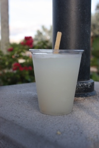 Frozen sugar cane cocktail featuring Ron Barceló Blanco Rum from the Dominican Republic